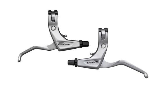 Shimano Deore BL-T611 Bremshebel Set V-Brake silber